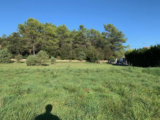 Vente terrain 851 m2
