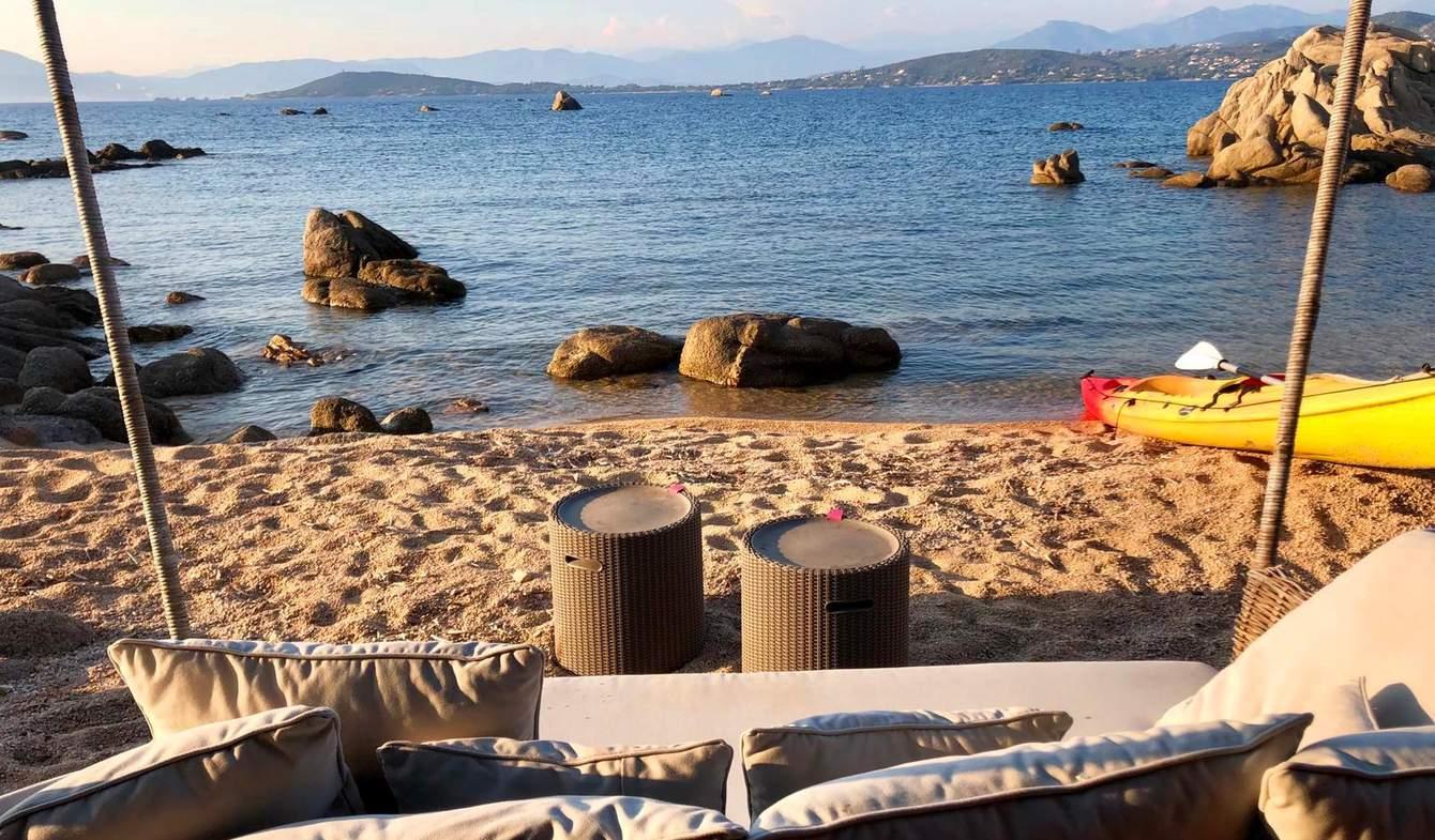 Propriété en bord de mer avec jardin Coti-Chiavari