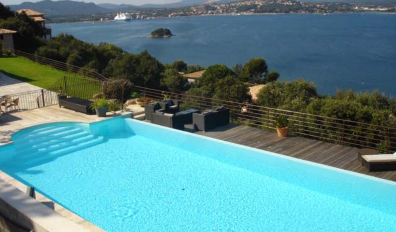 Seaside house with pool Porto-Vecchio
