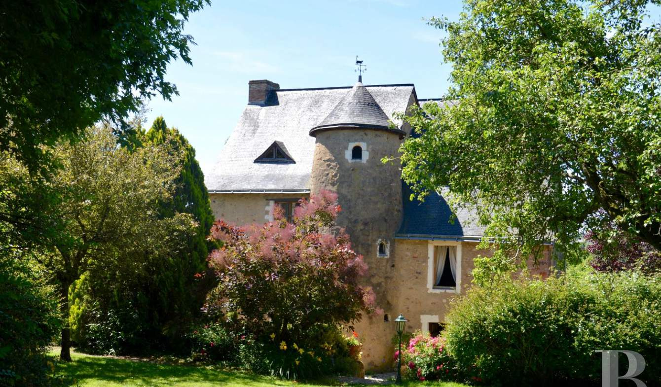Manoir Sable-sur-sarthe