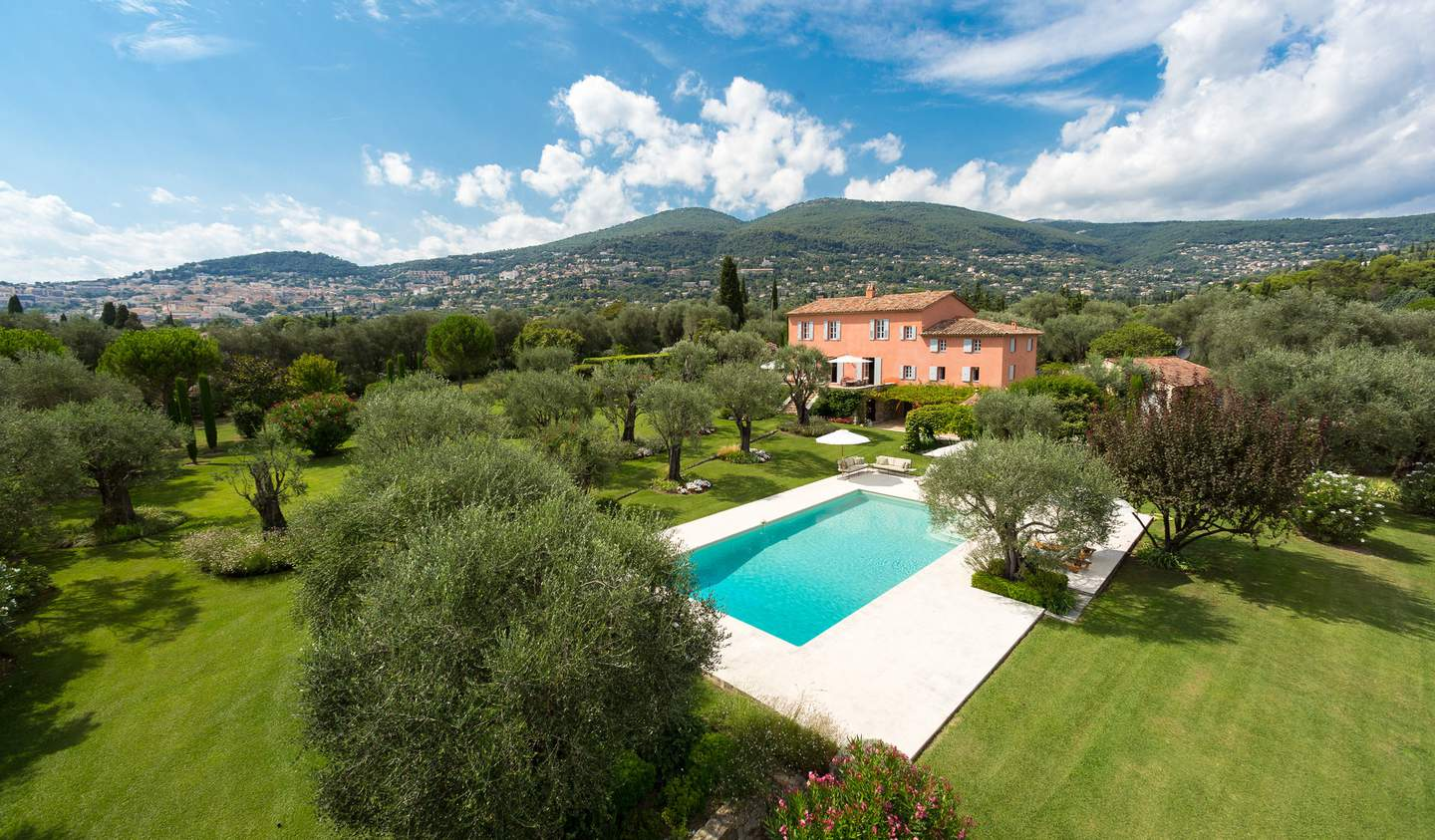 Villa with pool Grasse