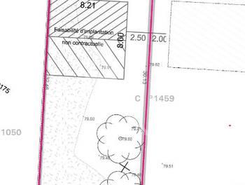 Terrain 368 m2