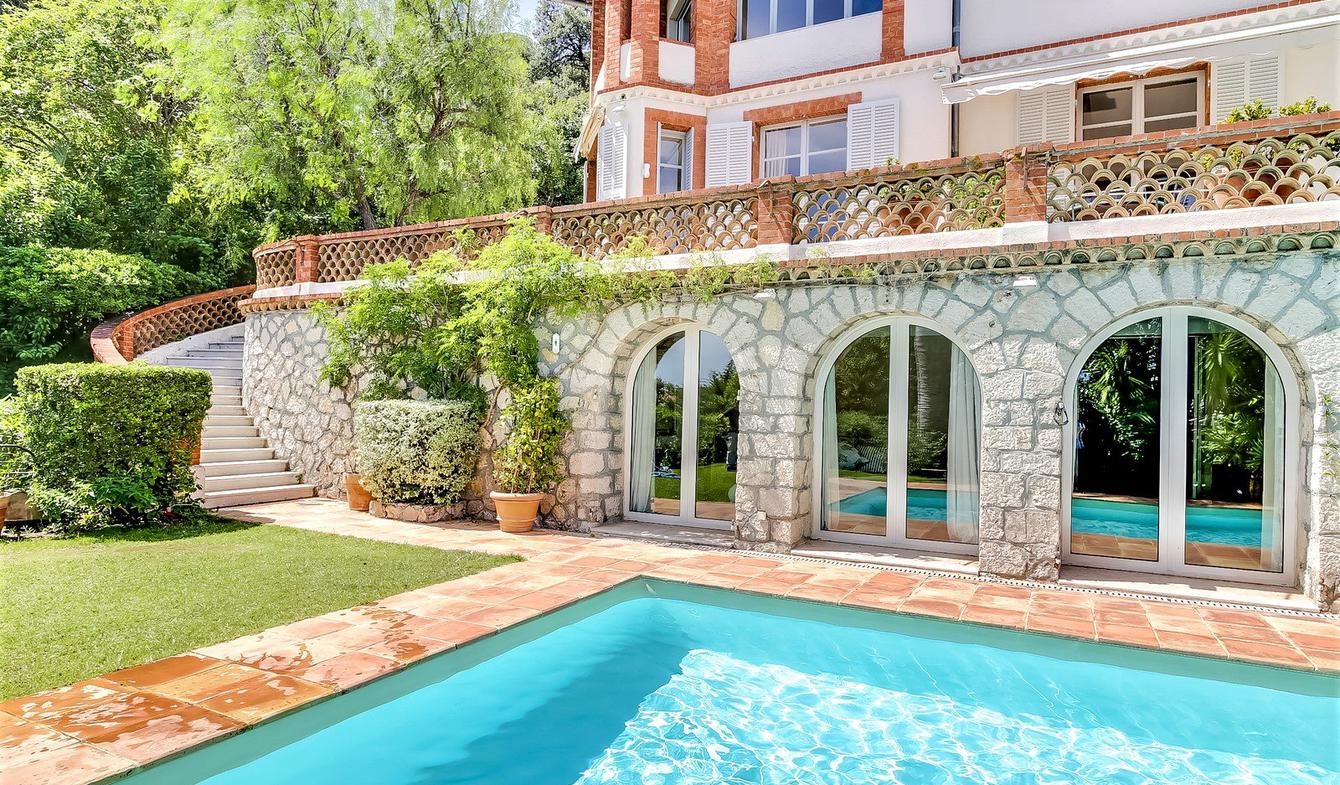 Villa with pool Cannes la bocca