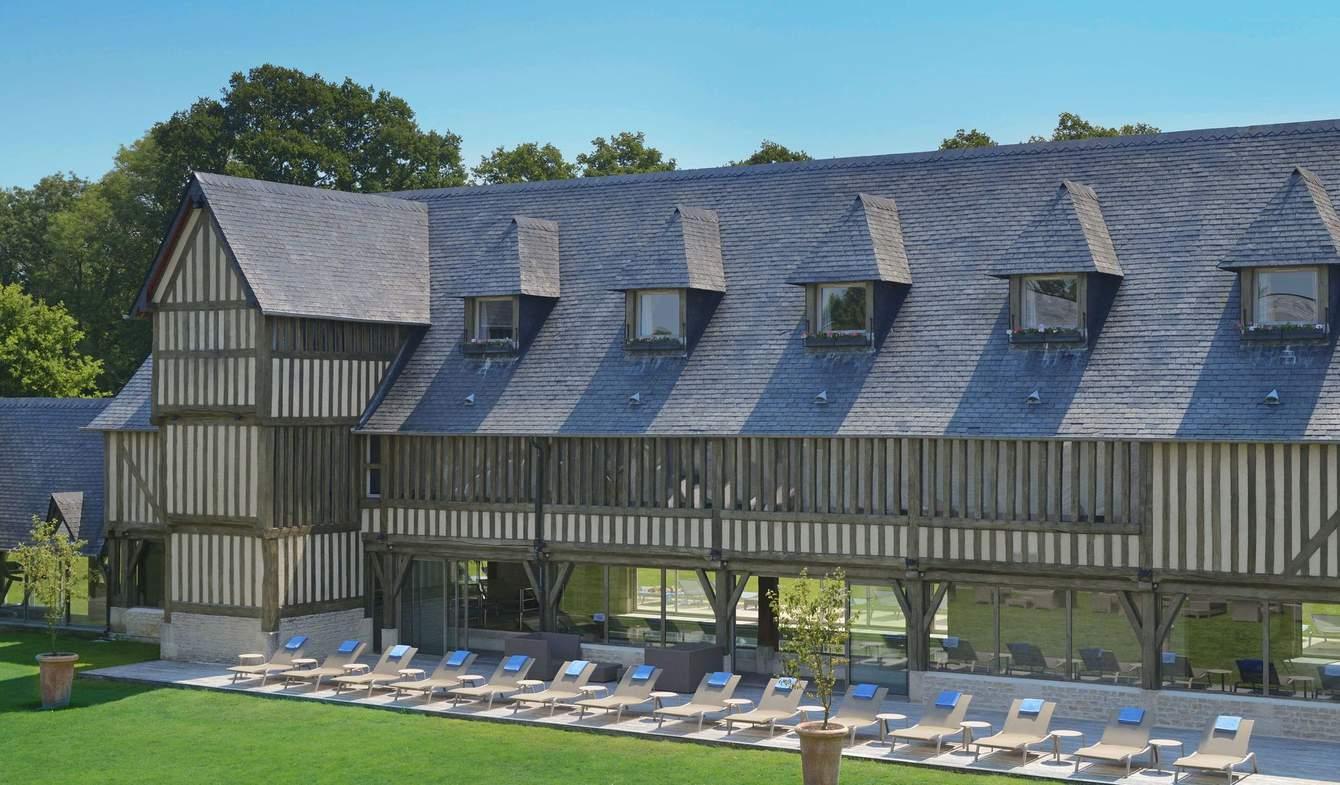 Hotel with sauna & steam room Deauville