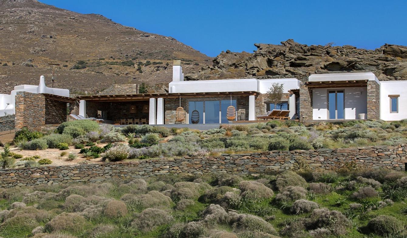 Villa avec piscine et terrasse Tinos