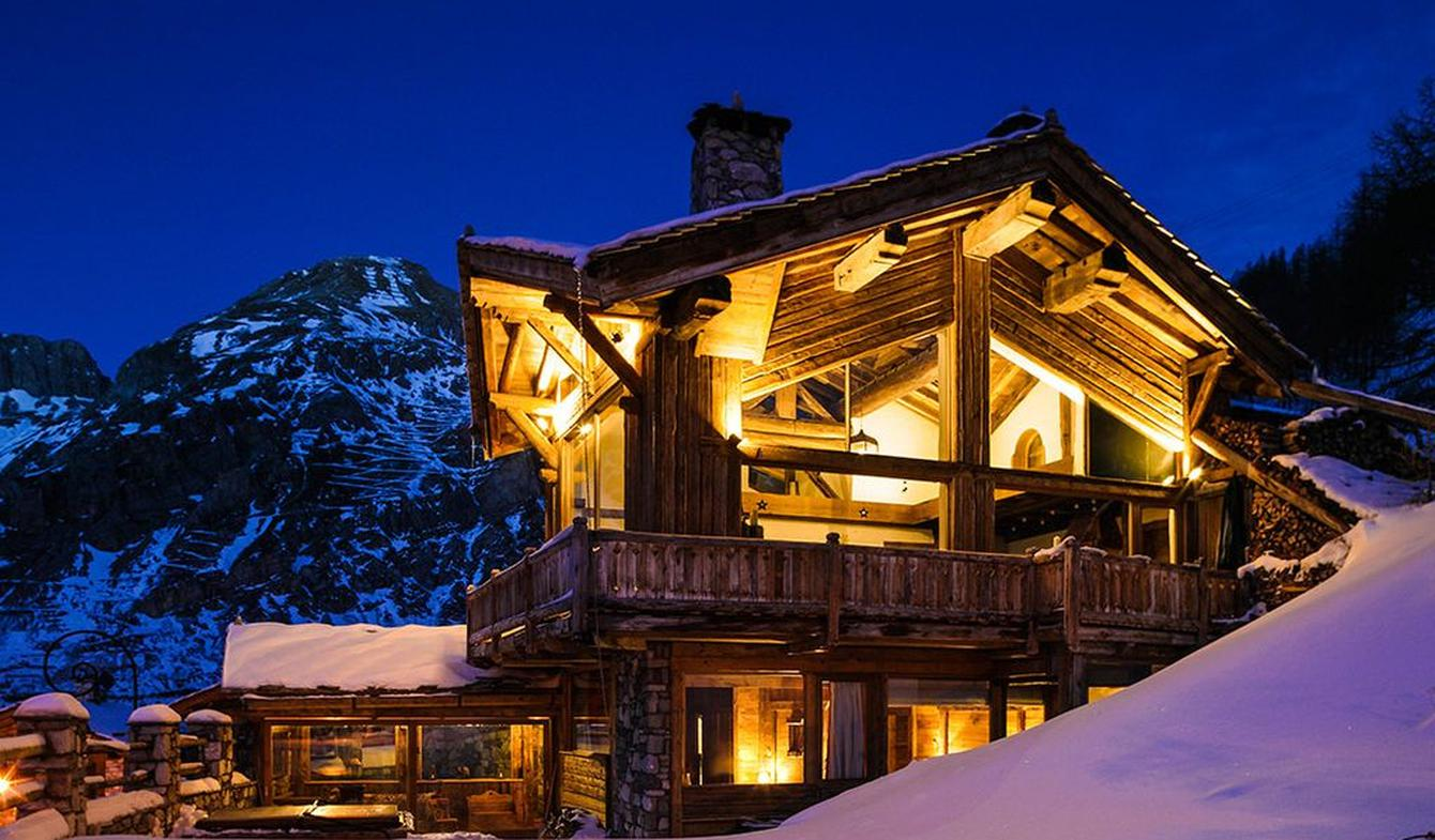 Chalet with panoramic view and terrace Val-d'isere