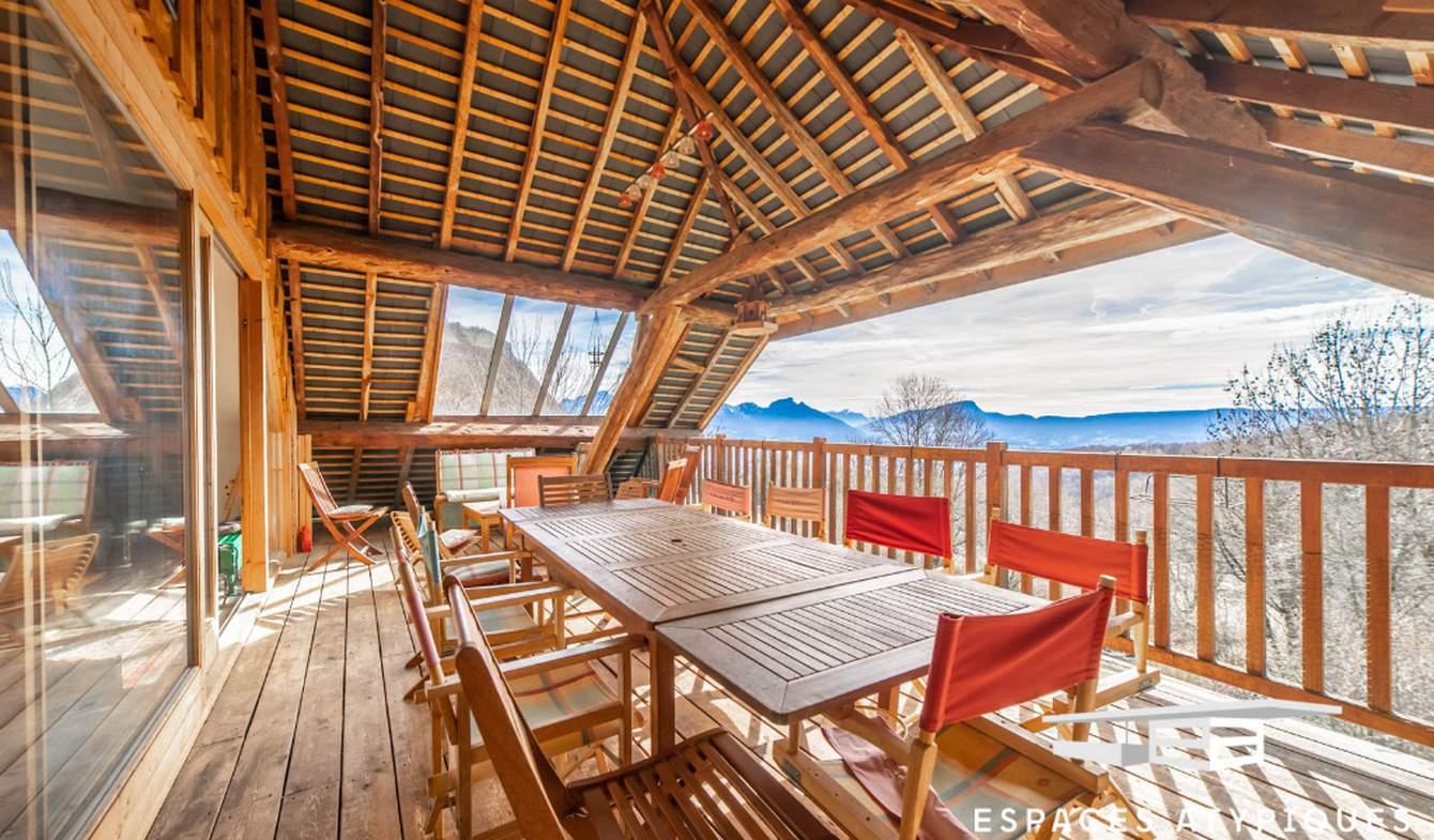 Maison avec terrasse Verel-Pragondran