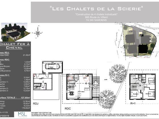 Vente maison 4 pièces 127,65 m2