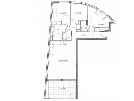 Vente appartement 4 pièces 88,15 m2