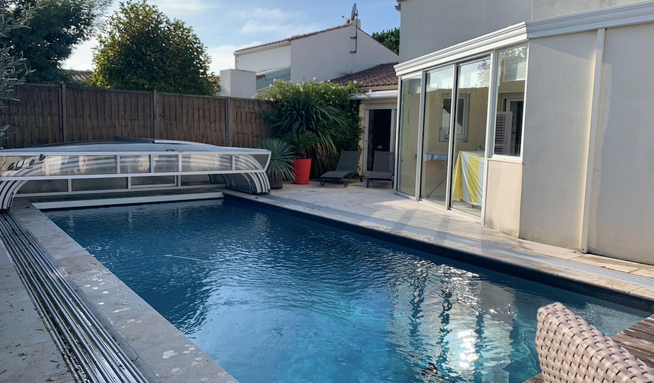 Maison avec piscine La Brée-les-Bains