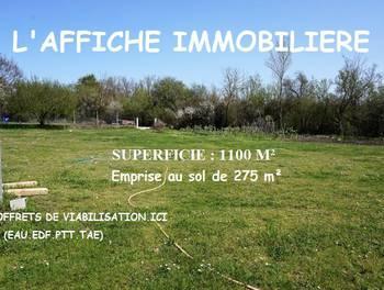 Terrain 1100 m2