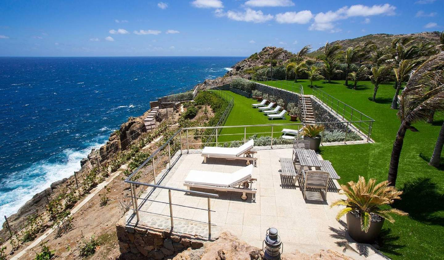 Seaside villa with pool ST BARTHELEMY