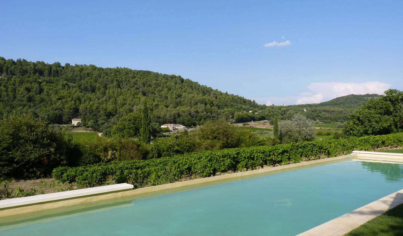 Propriété avec piscine et jardin Ménerbes
