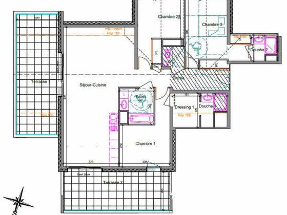 Vente appartement 4 pièces 98,51 m2