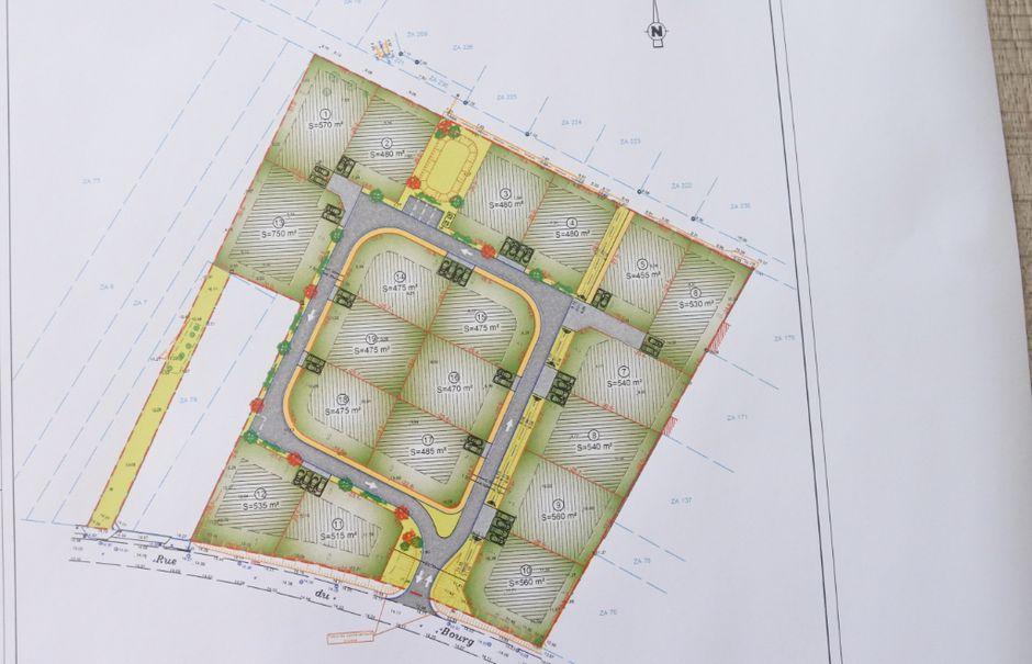 Vente terrain  489 m² à Saint-Nazaire-sur-Charente (17780), 50 900 €