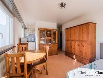 Studio meublé 20,6 m2