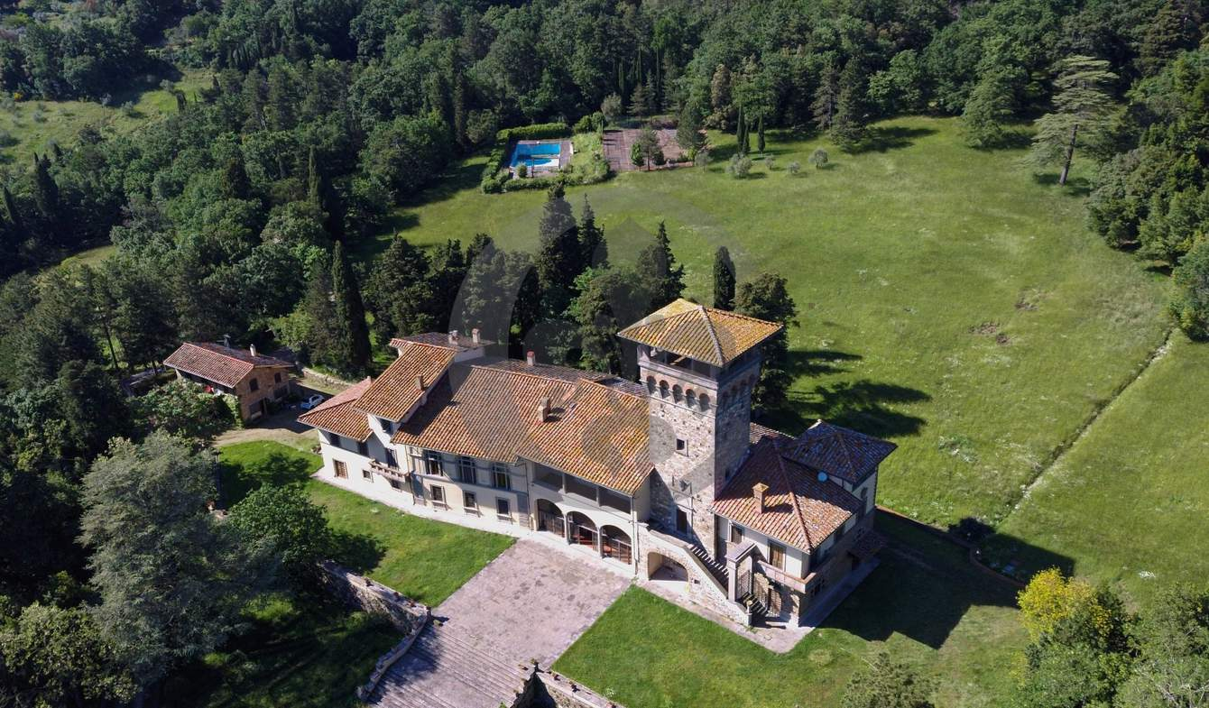 Villa avec piscine et jardin Fiesole