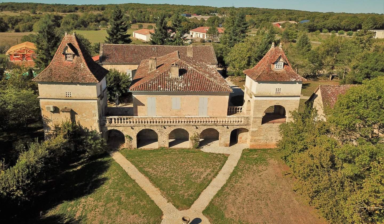 Propriété avec piscine Saint-Antonin-Noble-Val