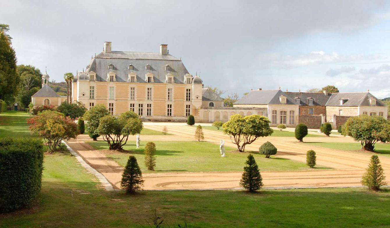 Château classé monument historique Rennes