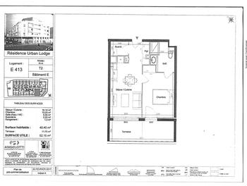 Appartement 2 pièces 40,4 m2