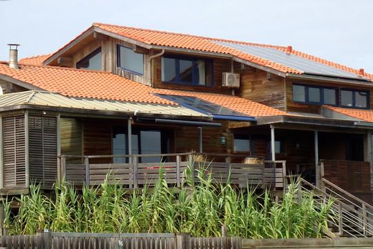 Seaside villa with pool
