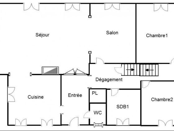 Vente maison 8 pièces