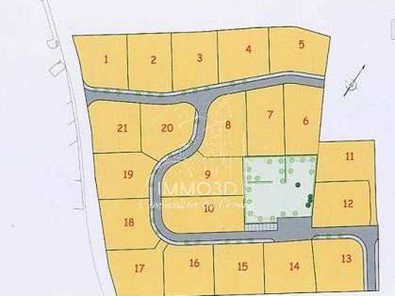 Vente terrain 1203 m2