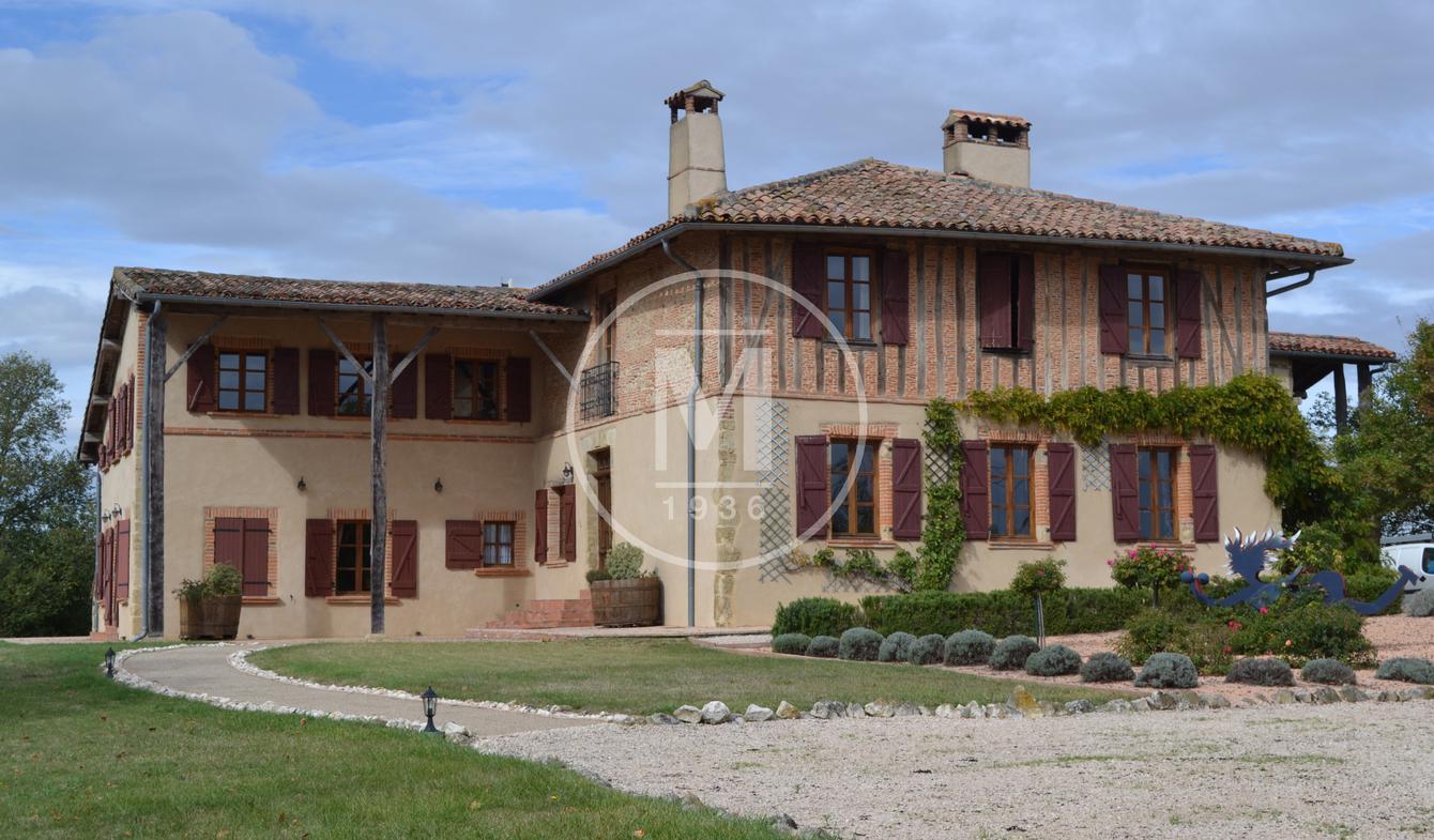 Maison avec terrasse Simorre