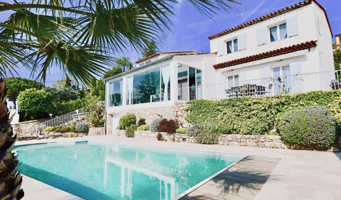 Maison avec piscine et jardin Cabris