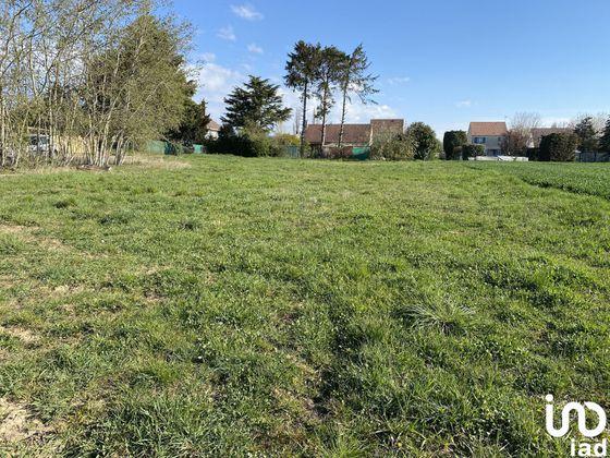 Vente terrain 2044 m2
