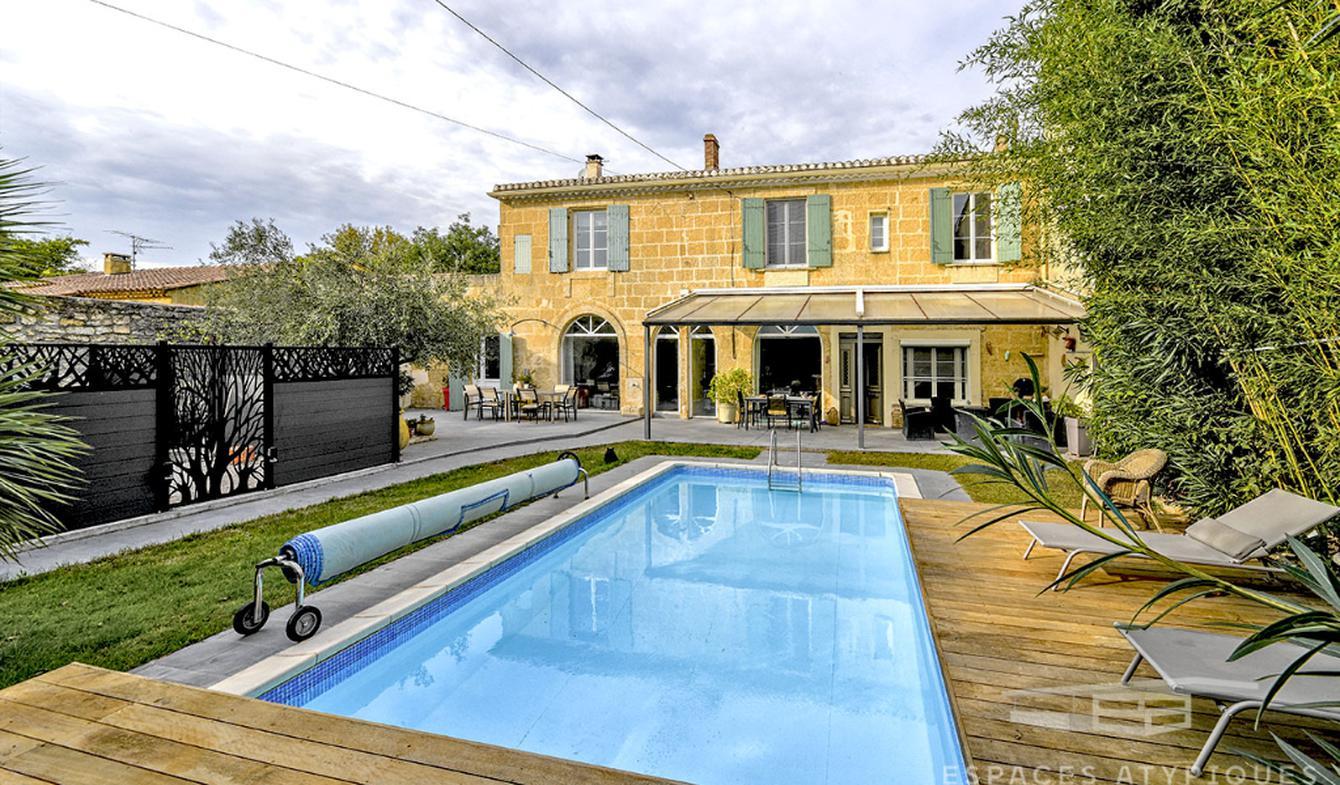 Maison avec piscine et terrasse Redessan