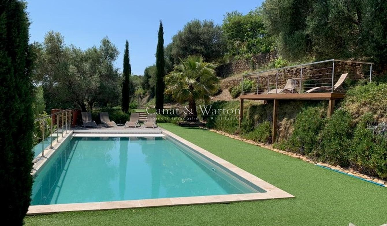 Villa with pool and terrace Bormes-les-Mimosas