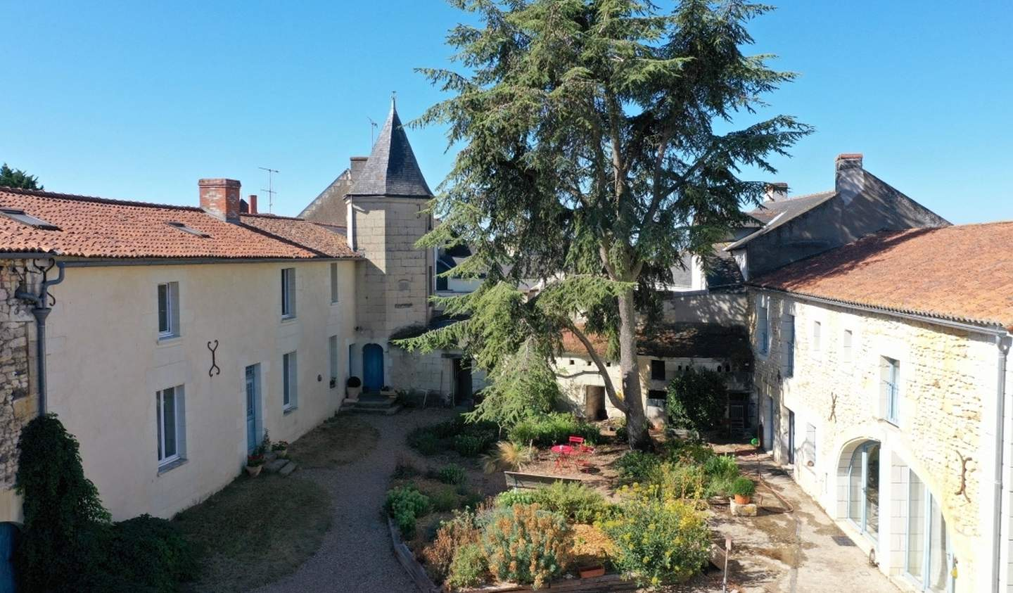 House with pool Montreuil-Bellay