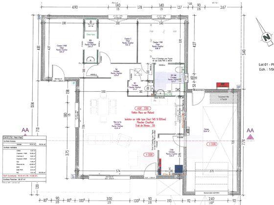 Vente maison 4 pièces 95,28 m2