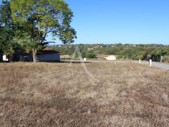 Vente terrain 648 m2