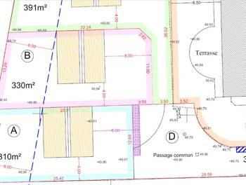 Terrain 310 m2