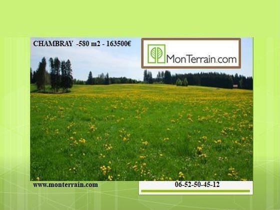 Vente terrain 1110 m2
