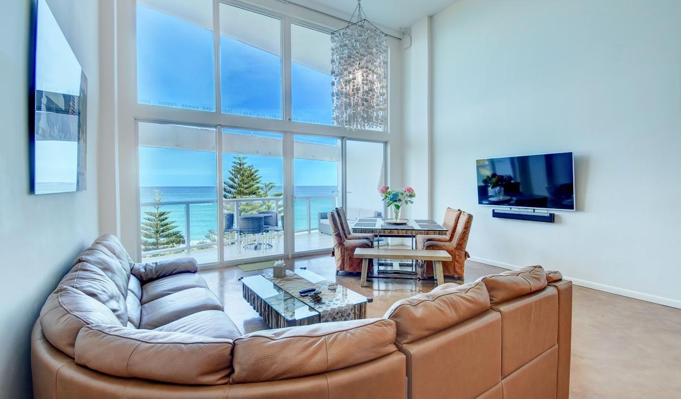 Appartement avec piscine en bord de mer Miami Beach
