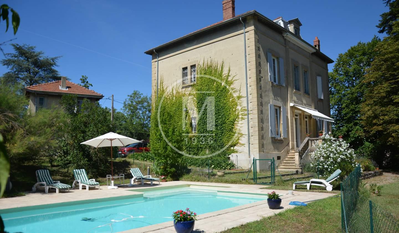 Maison avec piscine et terrasse Chonas-l'Amballan
