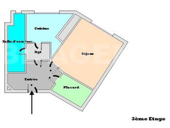 Studio 23,28 m2