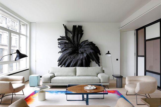 Appartement Contemporain, Paris 4e