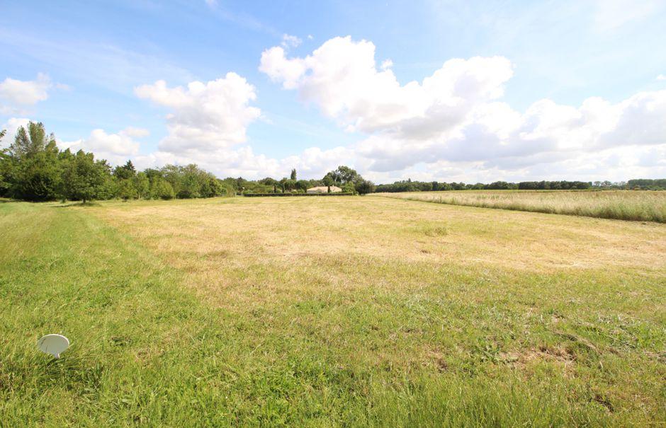 Vente terrain  2140 m² à Saint-André-de-Lidon (17260), 83 000 €