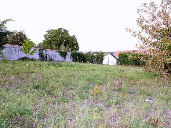 Vente terrain 640 m2