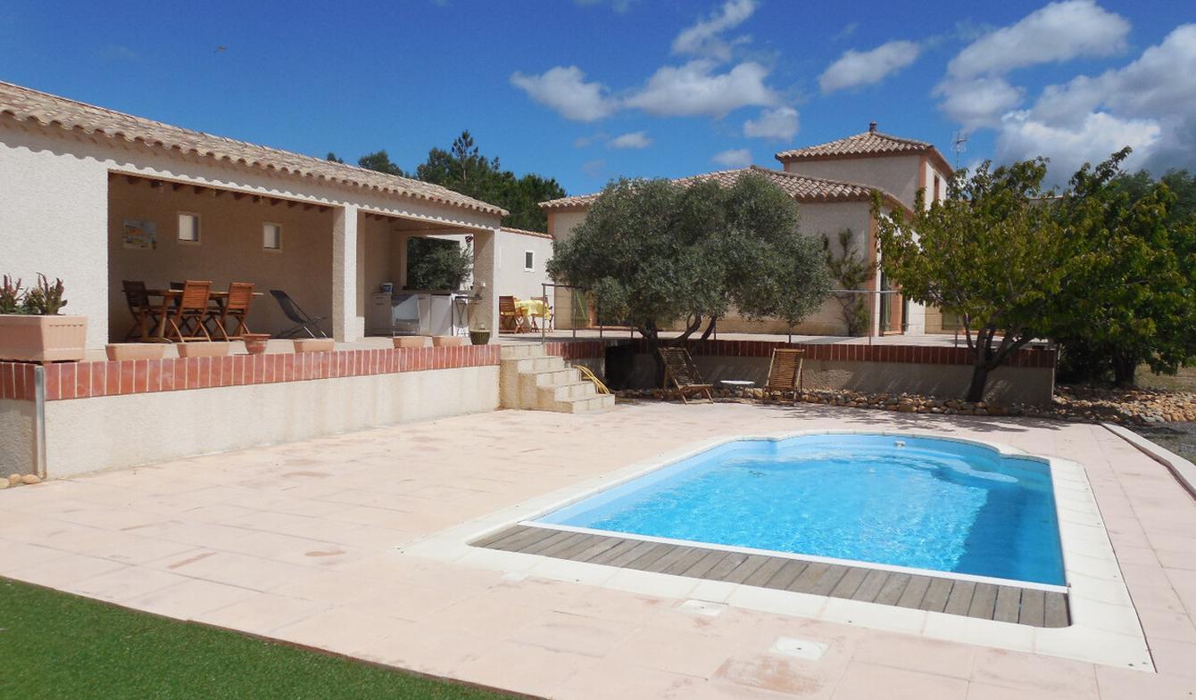 Villa avec piscine et terrasse La Palme