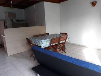 Appartement meublé 3 pièces 52,55 m2