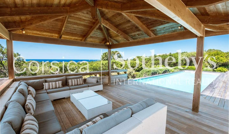 Seaside villa with pool Pianottoli-Caldarello