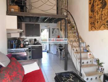 Maison 2 pièces 32 m2