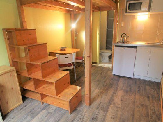 Location studio meublé 12,97 m2