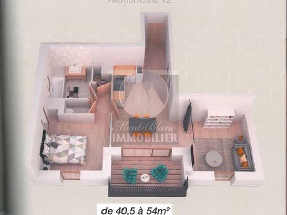 Vente appartement 3 pièces 60,06 m2