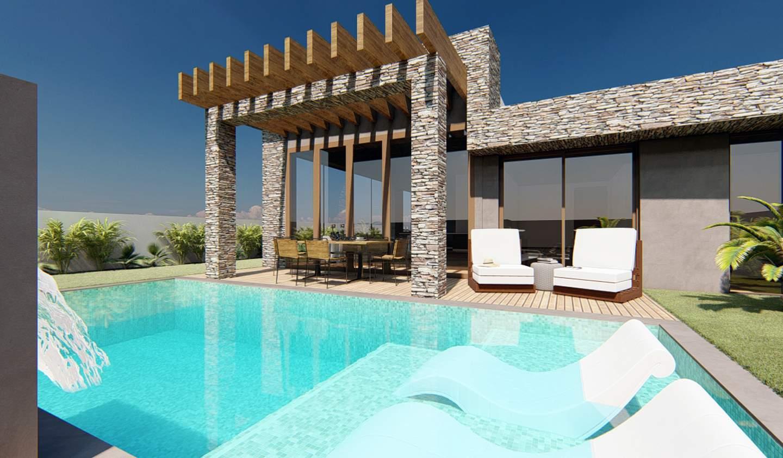 Villa with pool and garden Alvor